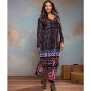 NEW NY Collection Boho Maxi Dress 2X